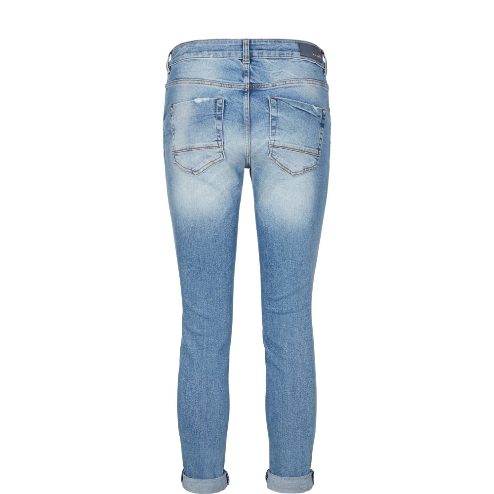Mos Mosh jeans - Bradford Block Jeans, LIght Blue Denim