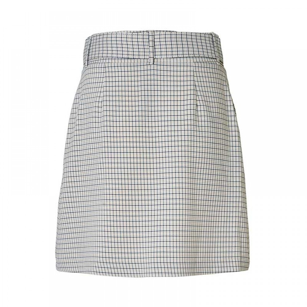 2nd One nederdel - Kaia 471 Skirt, Belted Spring Check