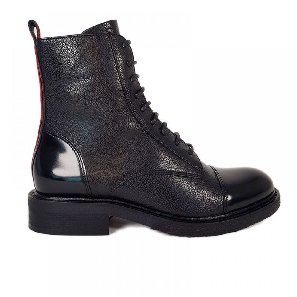 Billi Bi støvle - 4048 Boots Comb. Red, Black