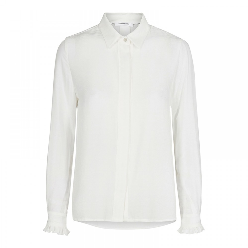 Co'couture skjorte - New Florence Shirt LS, White
