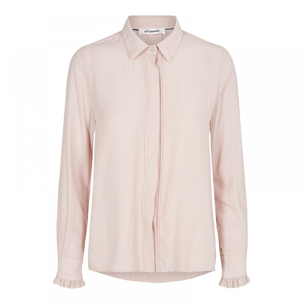 Co'couture skjorte - New Florence Shirt LS, Nude Rose