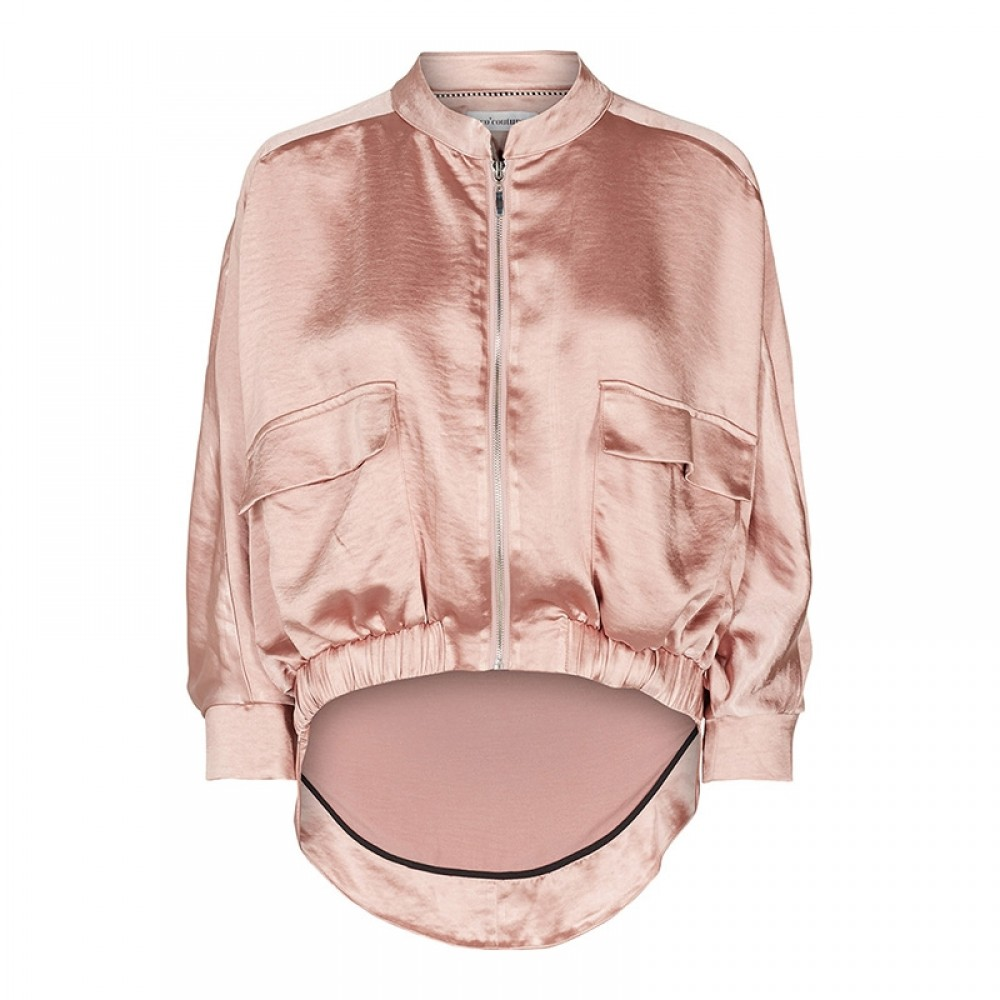 Co'couture Jakke - Mirage Sateen Jacket, Nude Rose