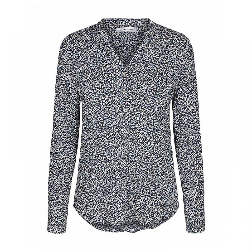 Co'couture bluse - Coco Dhabi LS Shirt, Navy