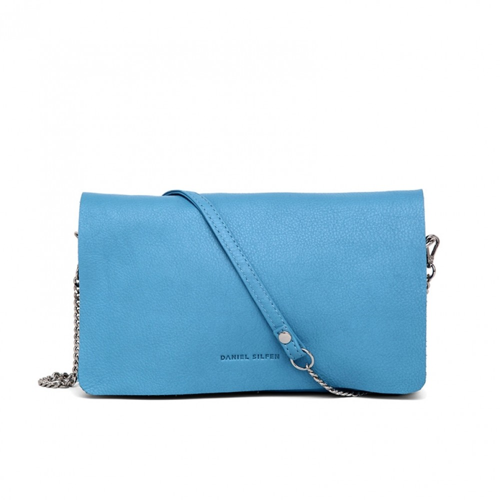 Daniel Silfen taske - Amalie Evening Bag, Sky Blue