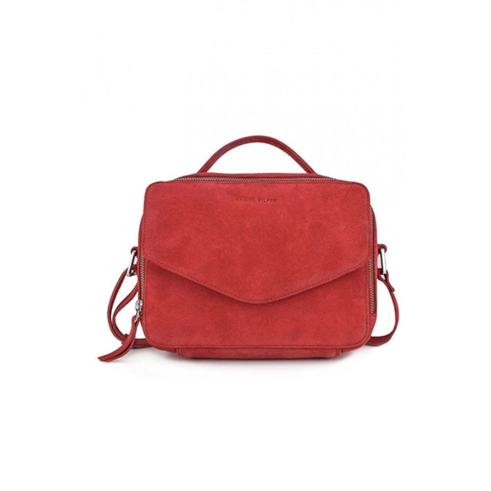 Daniel Silfen taske - Holly handbag 513708, Red