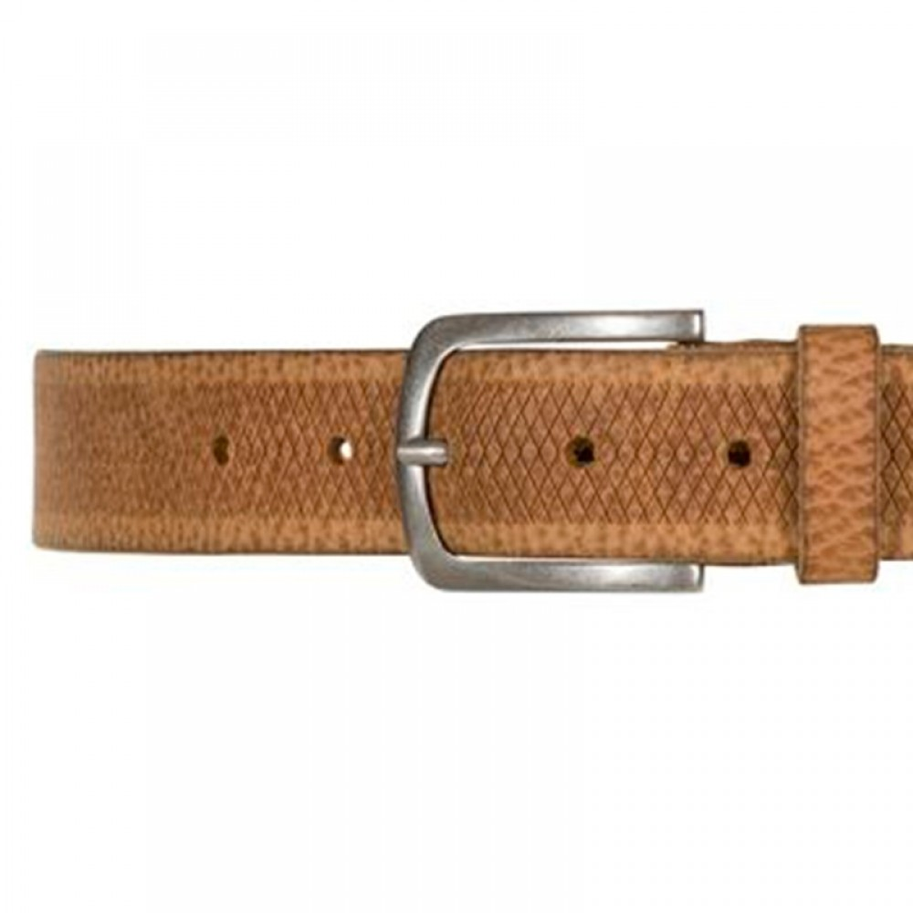 Depeche bælte - Missouri Washed Jeans Belt, Cognac
