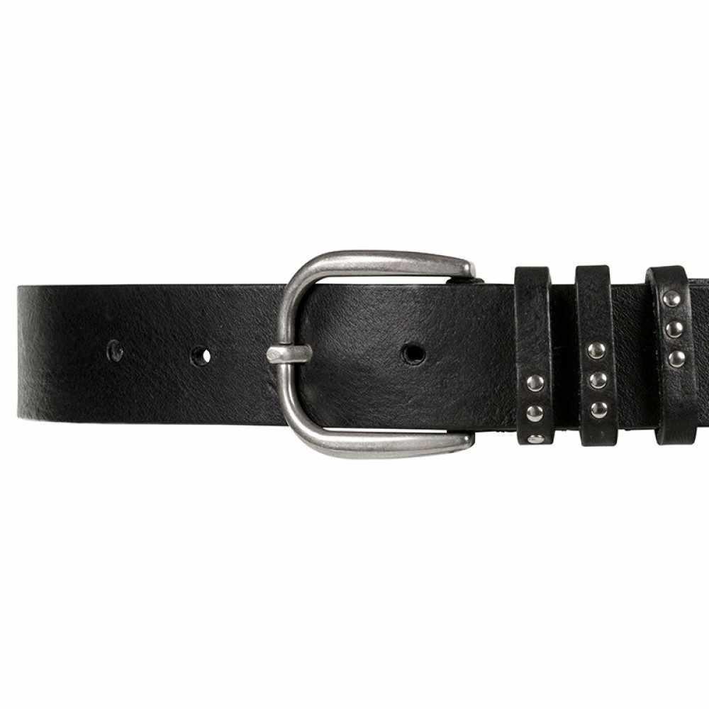 Depeche bælte - Virginia Jeans Belt, Black
