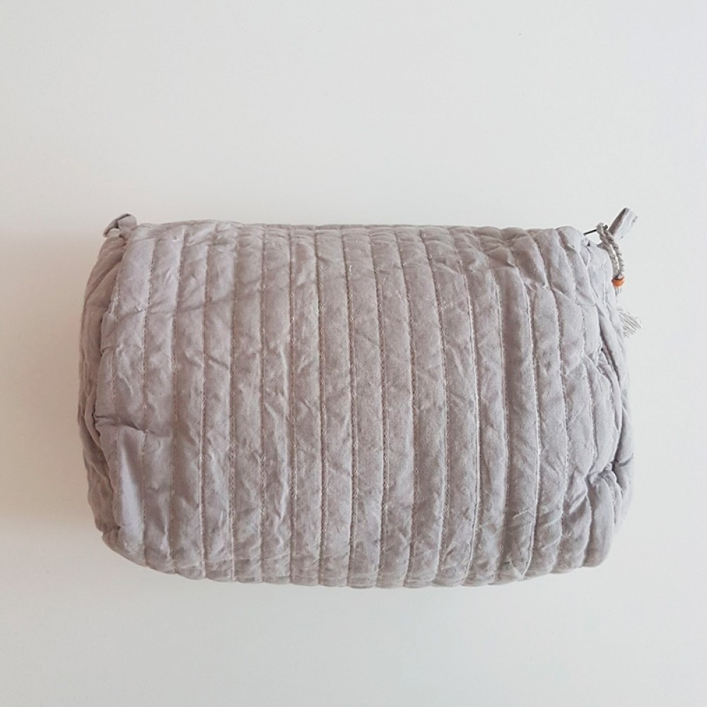 Gai + Lisva toilettaske - Wash Bag Weekend, Silver Scone