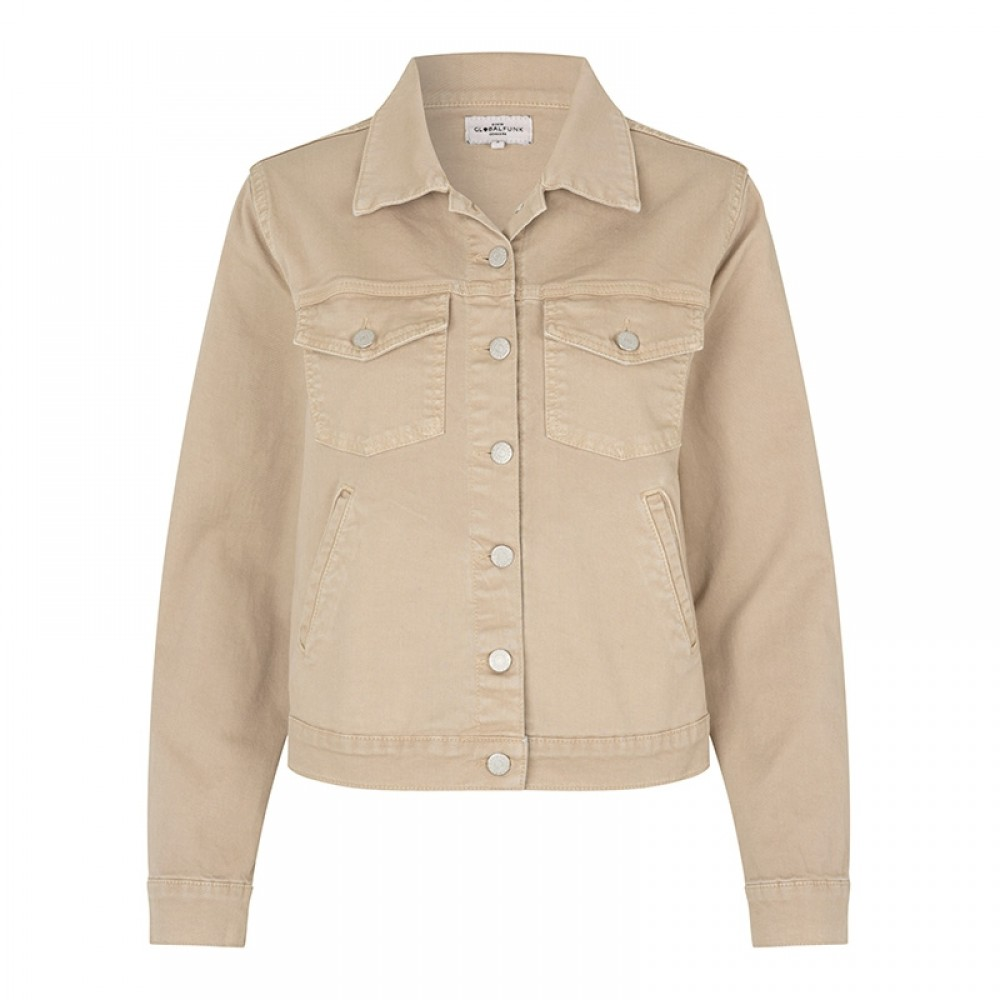 Global Funk jakke - Bethan Tesro125 Jacket, Light Sand