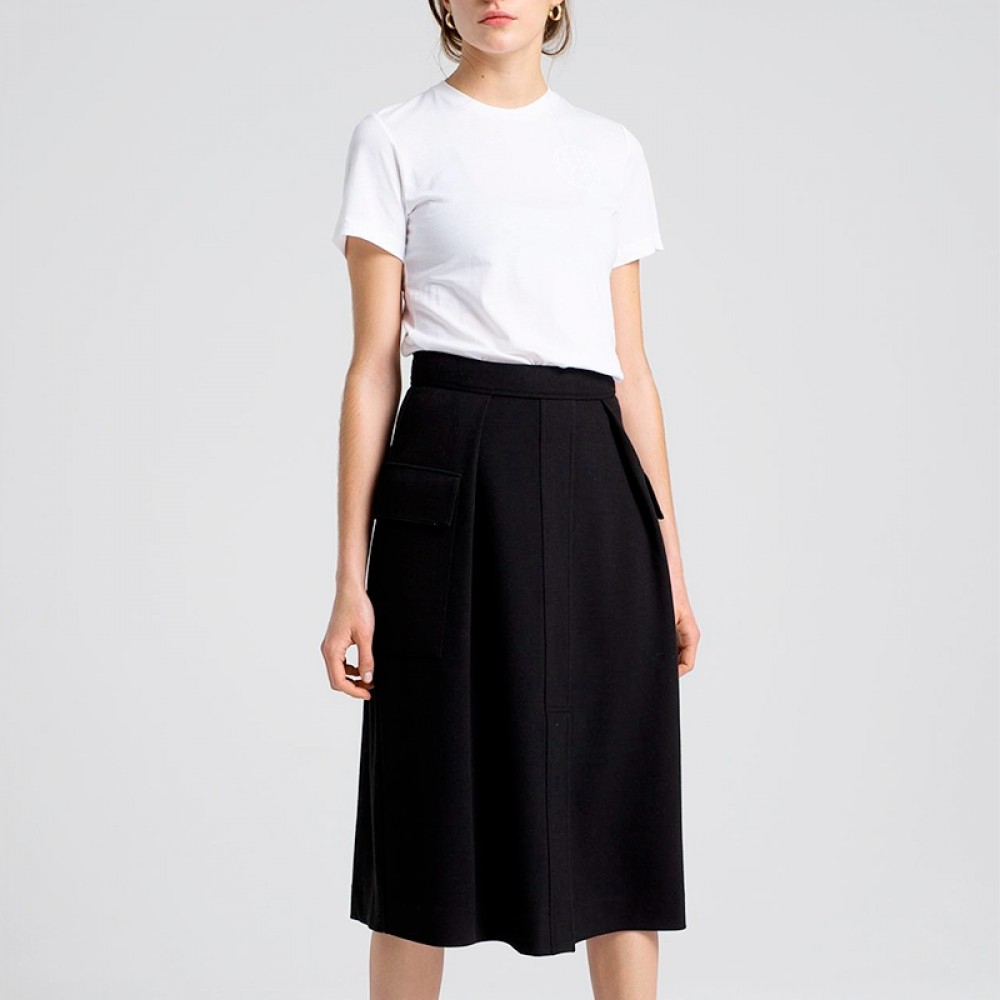 House of Dagmar nederdel - Barbro Skirt, Black
