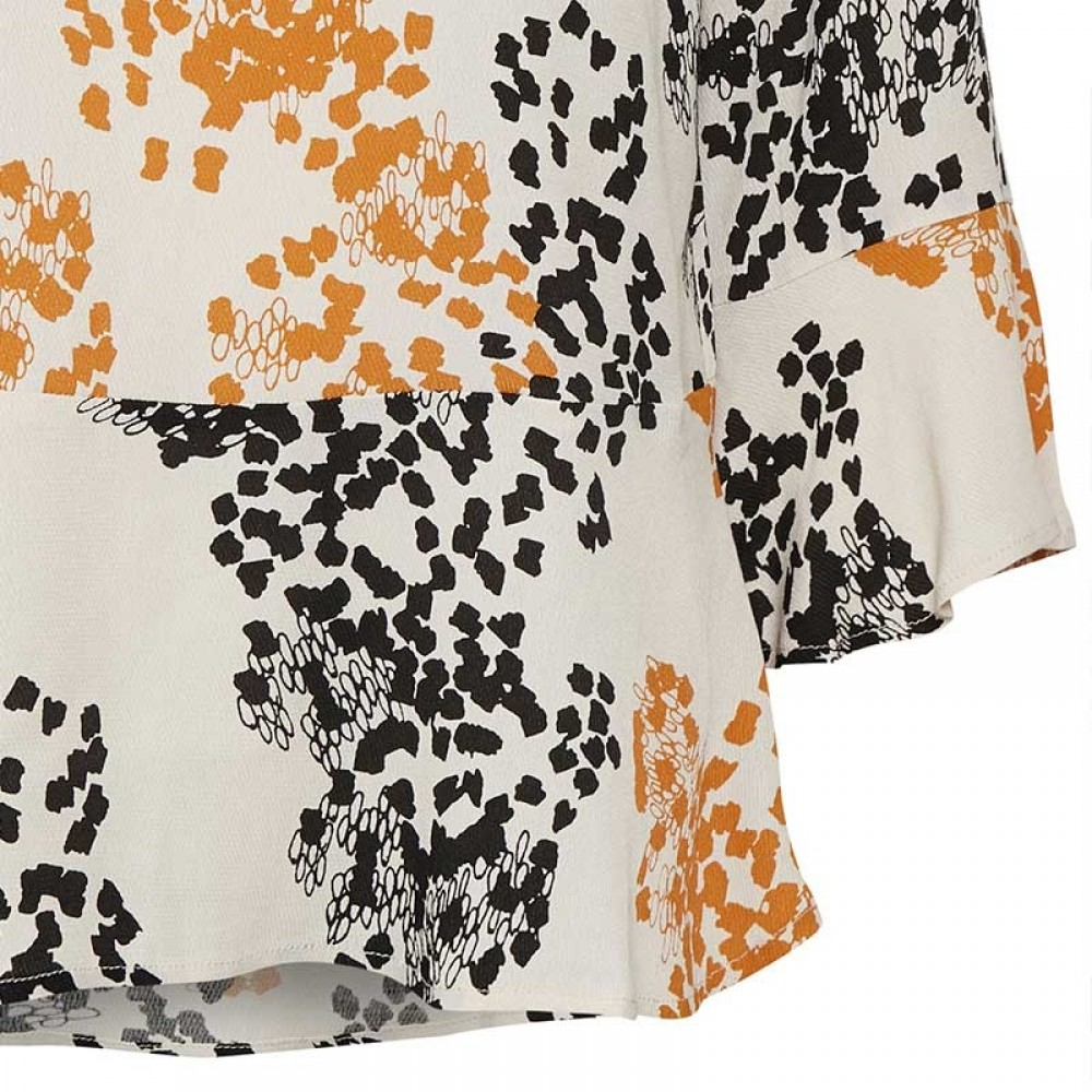 InWear bluse - Mabelle Top, Graphic Dot
