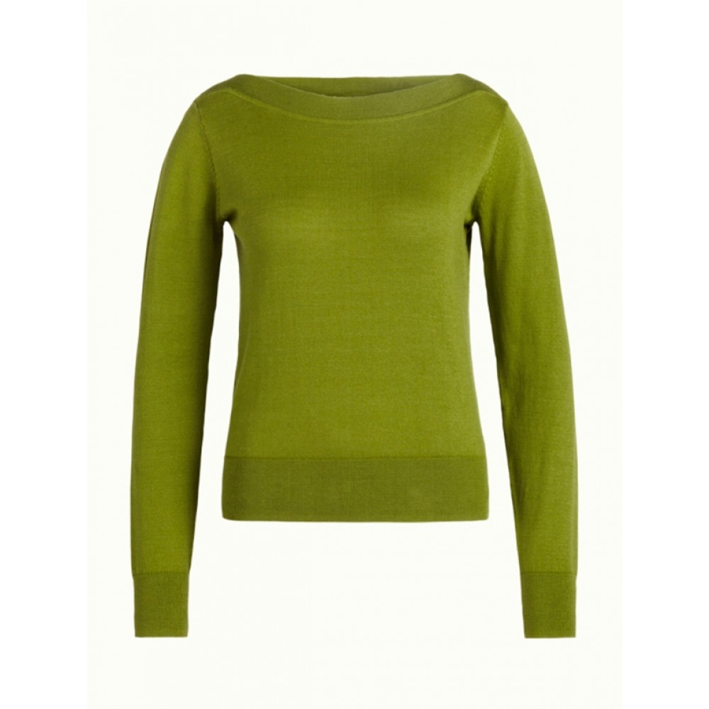 King Louie bluse - Audrey Top Cottonclub, Posey Green