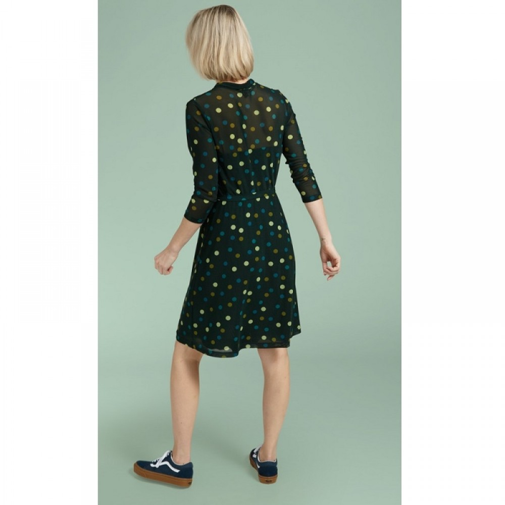 King Louie kjole - Emmy Dress Fettini, Sycamore Green