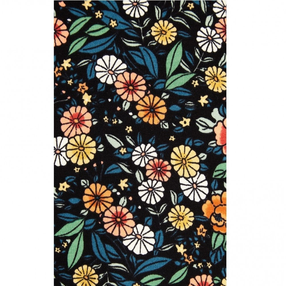 King Louie kjole - Emmy Dress Flowerbed, Black