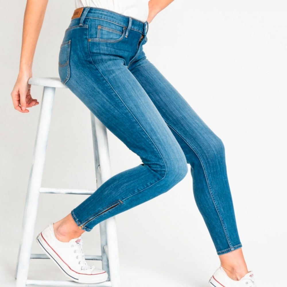 Lee jeans - Scarlett Cropped High, Blue