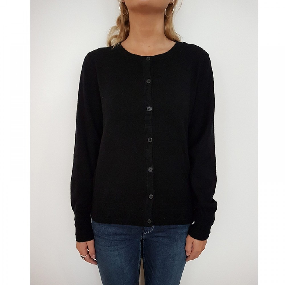 Levete Room cardigan - ALETT 3, Black