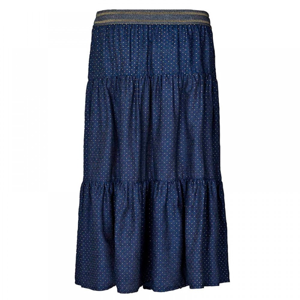 Lollys Laundry nederdel - Morning Skirt, Navy