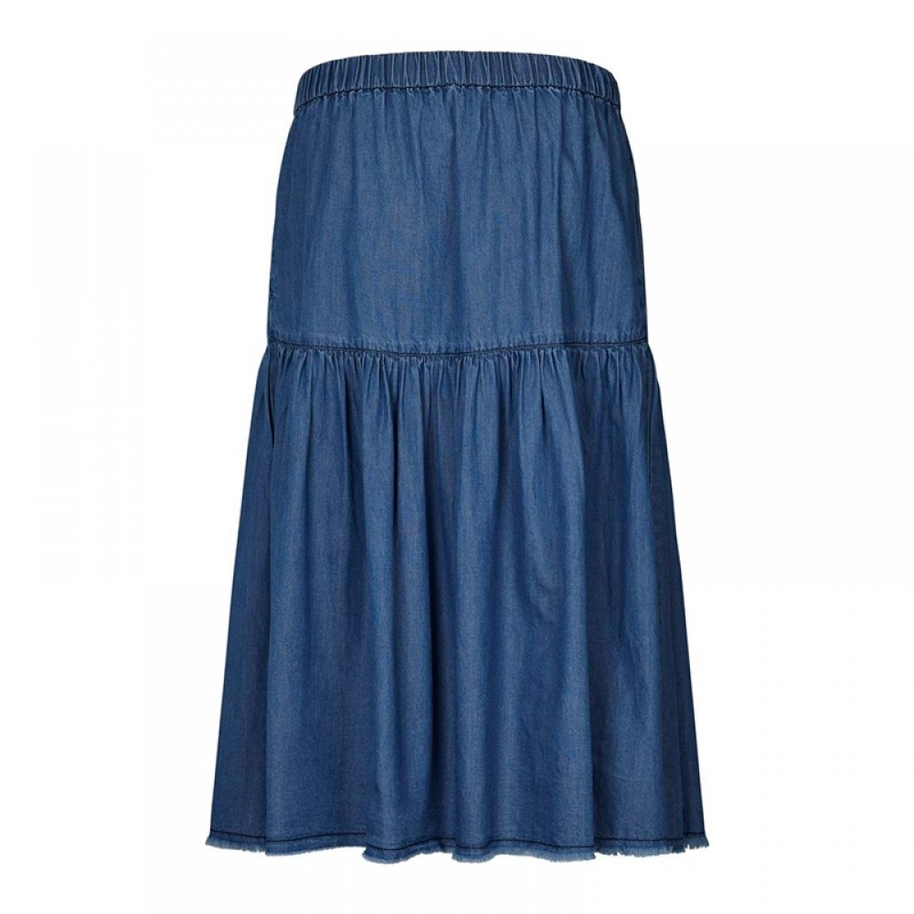 Lollys Laundry nederdel - Liv Skirt, Blue
