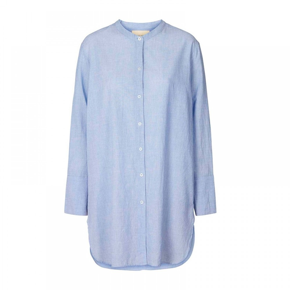 Lollys Laundry skjorte - Doha Shirt, Light Blue