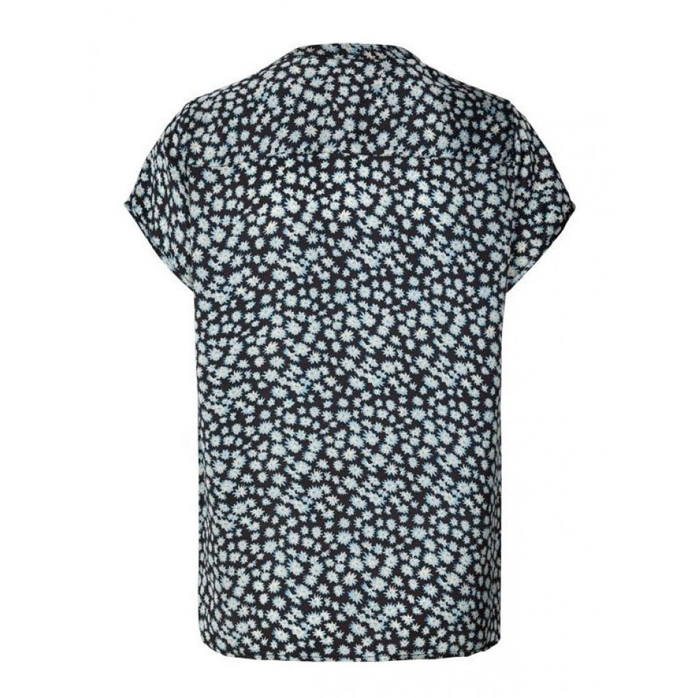 Lollys Laundry bluse - Heather, Blue