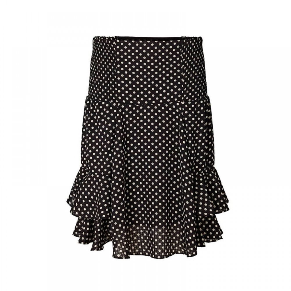 Lollys Laundry nederdel - Grace Skirt, Dot Print