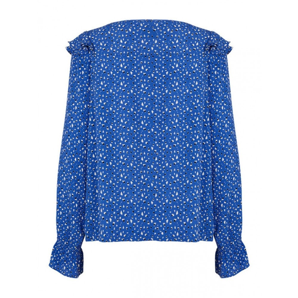 Lollys Laundry bluse - Jessie, Blue