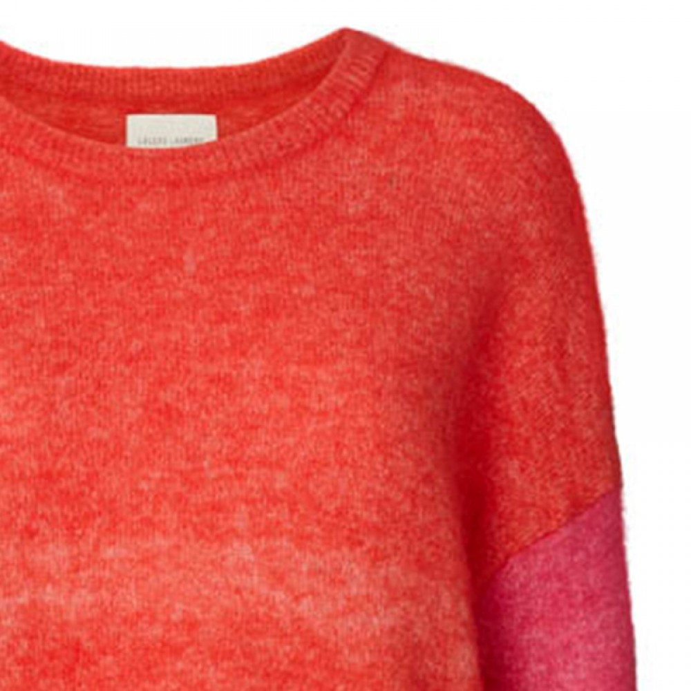Lollys Laundry bluse - Finley Jumper, Red