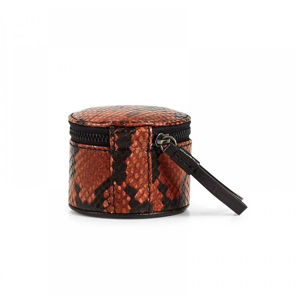 Markberg smykkebox - Lova Jewelry Snake Box Small, Burnt Orange