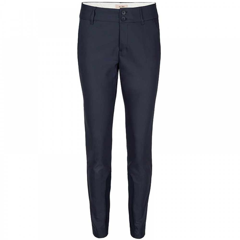 Mos Mosh bukser - Blake Night Pant Sustainable, Navy
