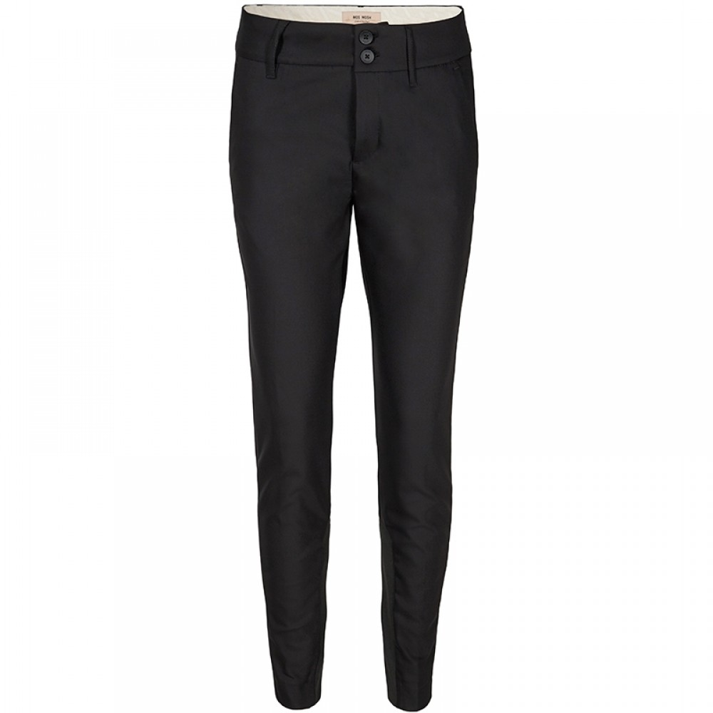 Mos Mosh bukser - Blake Night Pant Sustainable, Black