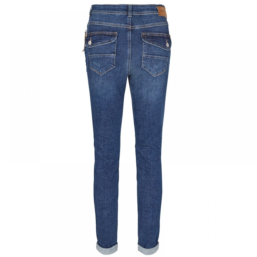 Mos Mosh jeans - Nelly Block Jeans, Blue Denim
