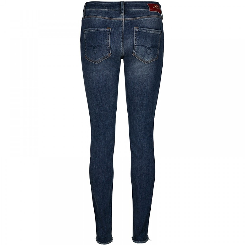 Mos Mosh jeans - Sumner Blossom Jeans, Mid Blue Wash