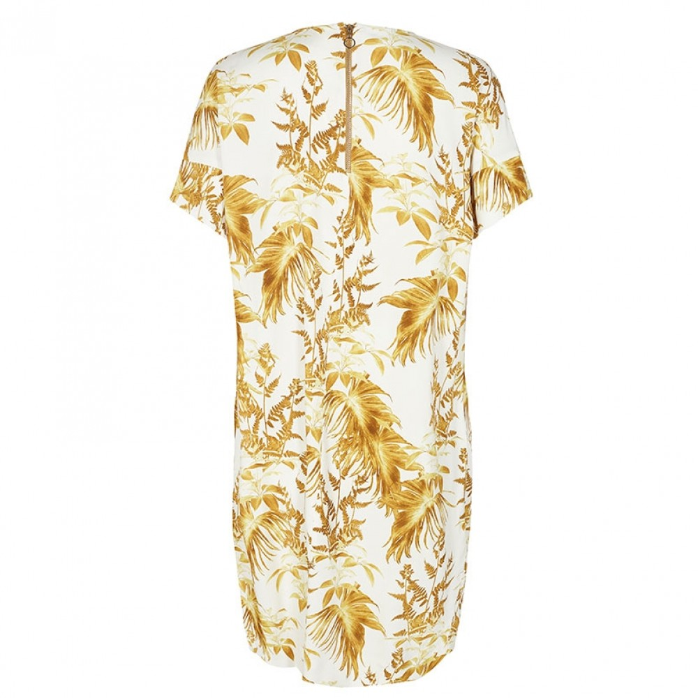 Mos Mosh kjole - Lori Cannes Dress, Lemon Print