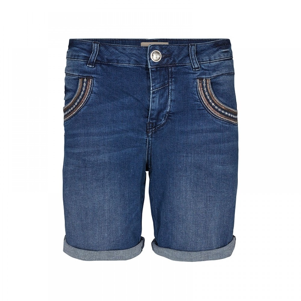Mos Mosh shorts - Naomi Muscat Denim Shorts, Blue Denim