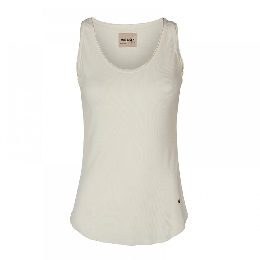 Mos Mosh top - Evi Tank Top, Off White