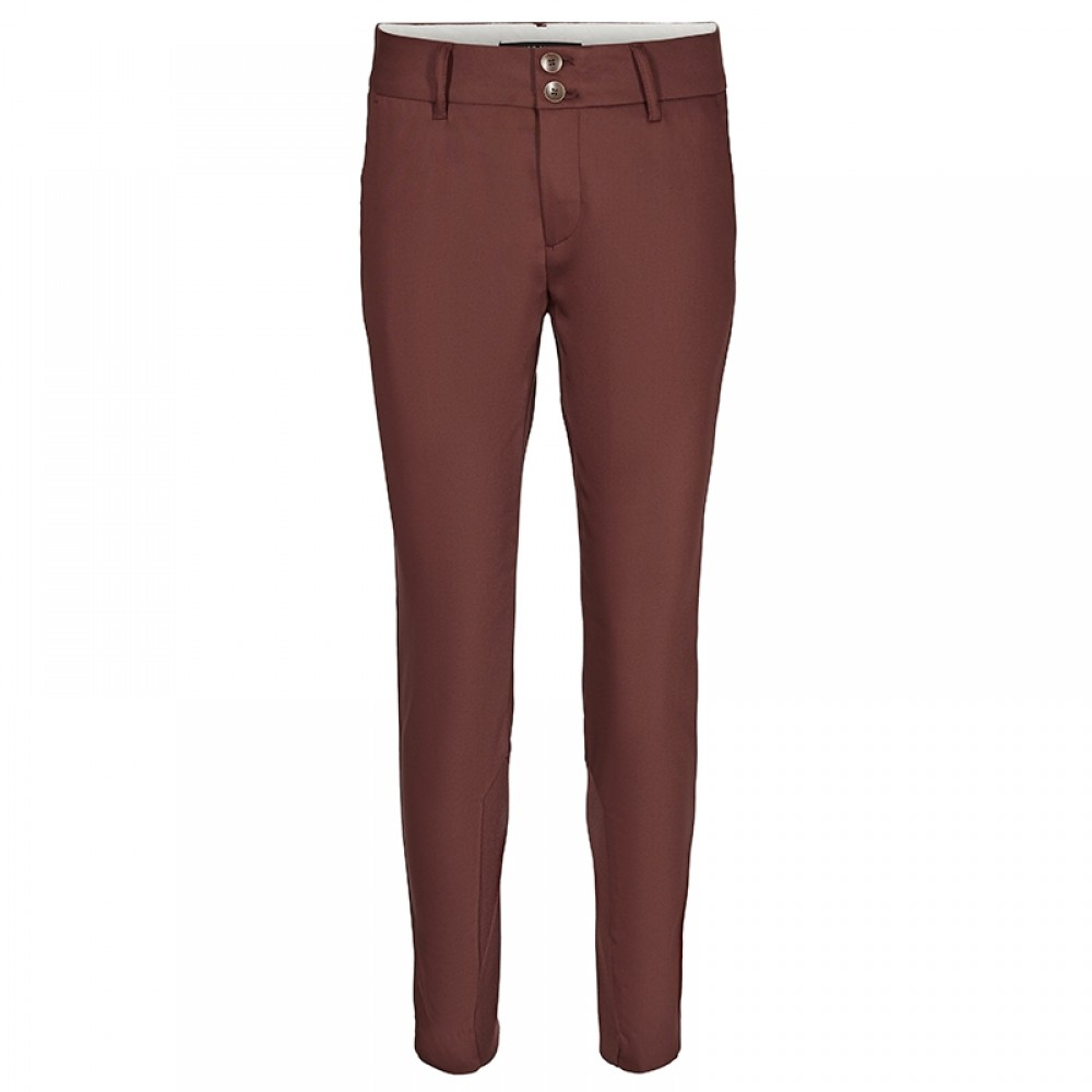 Mos Mosh bukser - Blake Night Pant, Chocolate