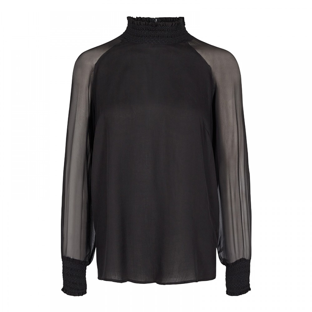 Mos Mosh bluse - Marit Blouse, Black
