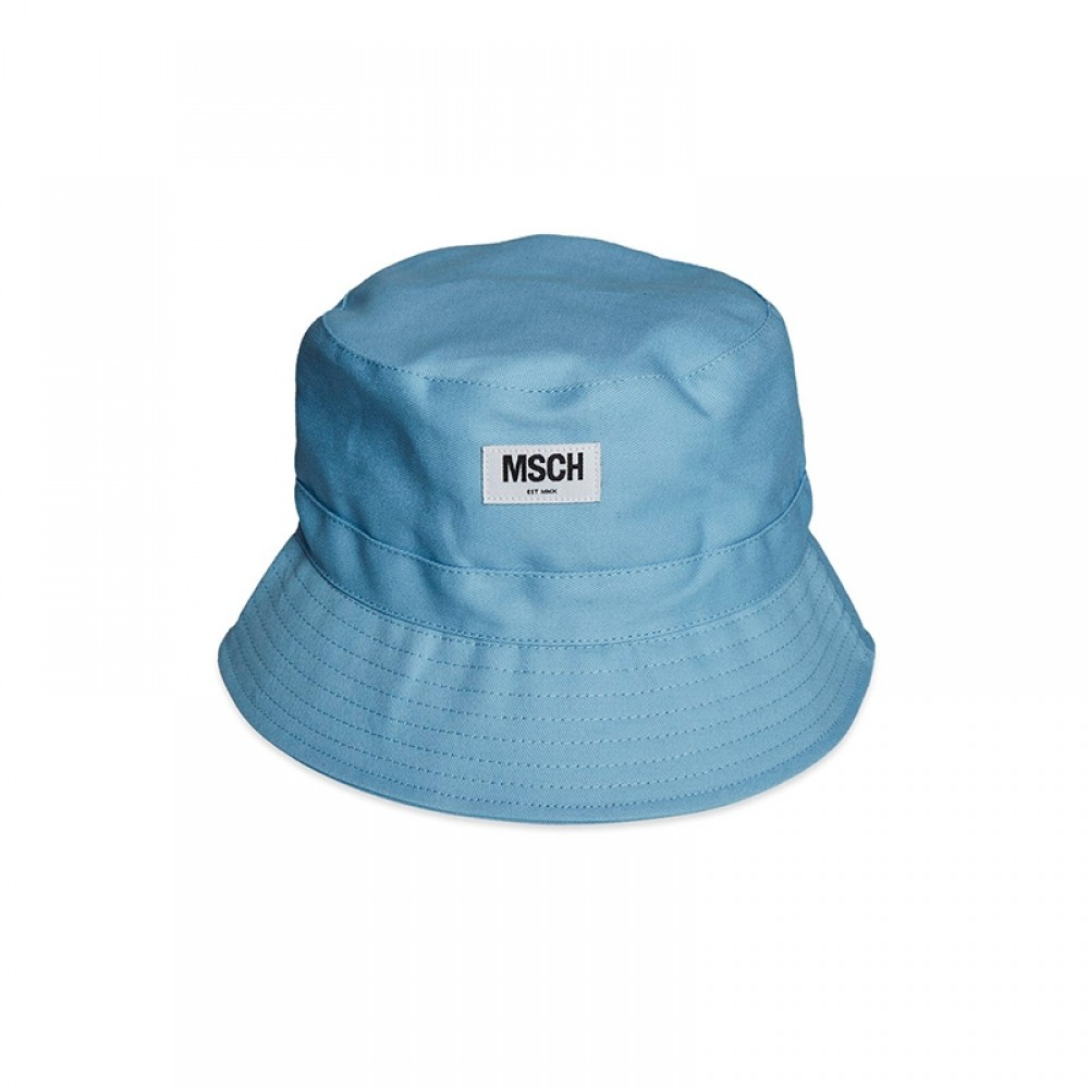 MOSS COPENHAGEN bøllehat - Balou Bucket Hat, Light Blue