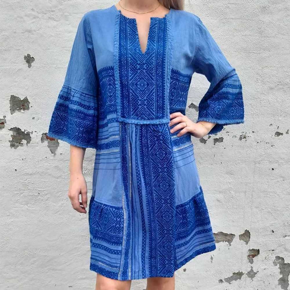 NEJMA kjole - Maddy Short Dress, Blue