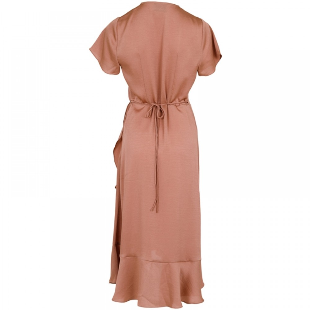 Neo Noir kjole - Magga Solid Dress, Caramel