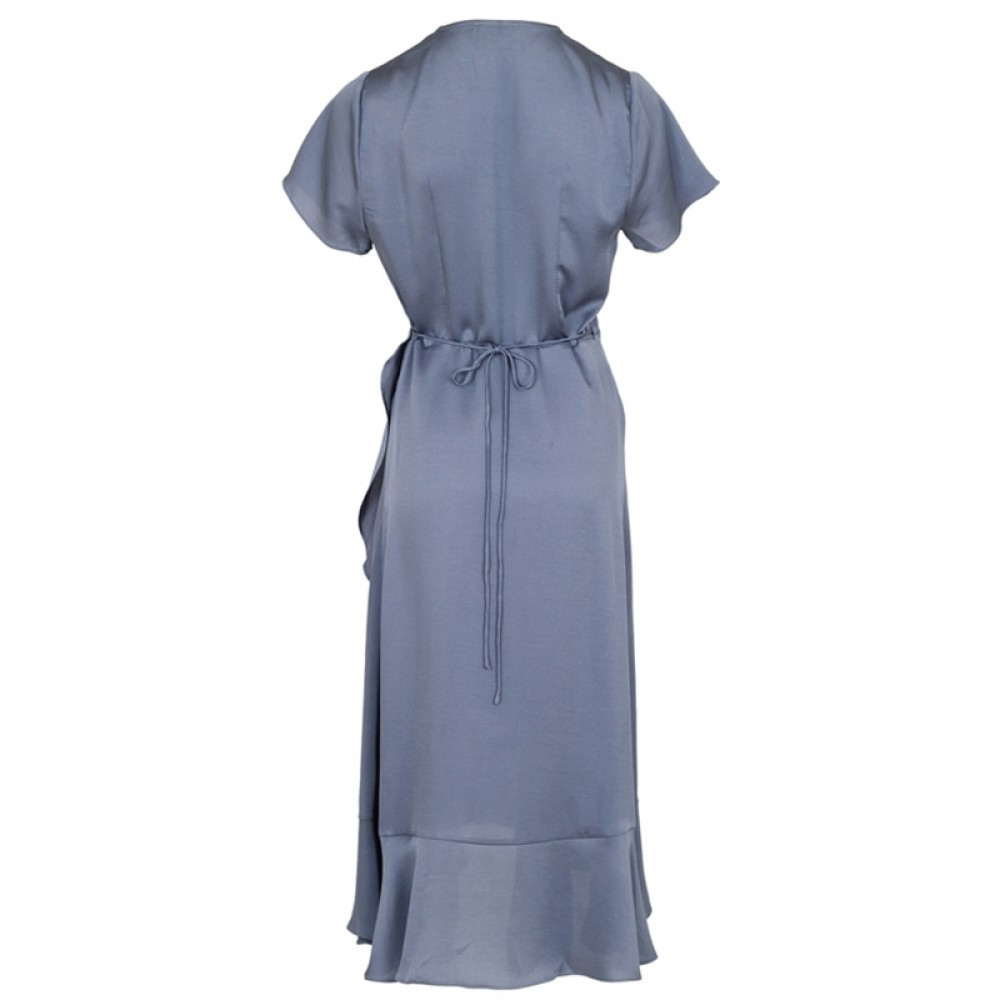 Neo Noir kjole - Magga Solid Dress, Dusty Blue
