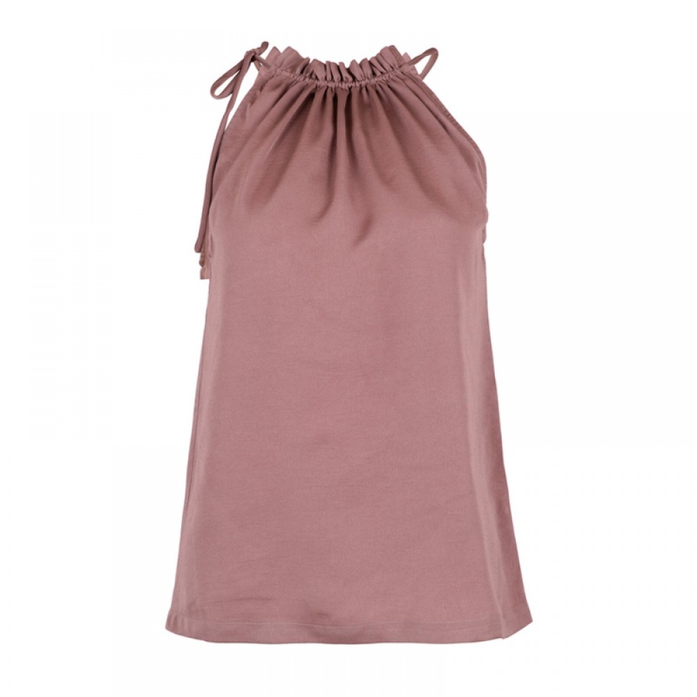 Neo Noir top - Paula Top, Dusty Purple