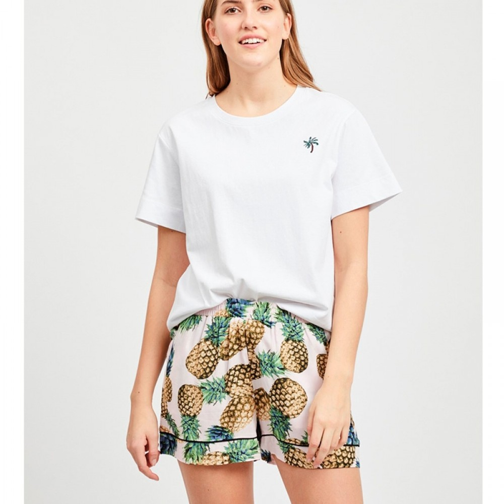 Object bluse - Matilda SS Tee, White