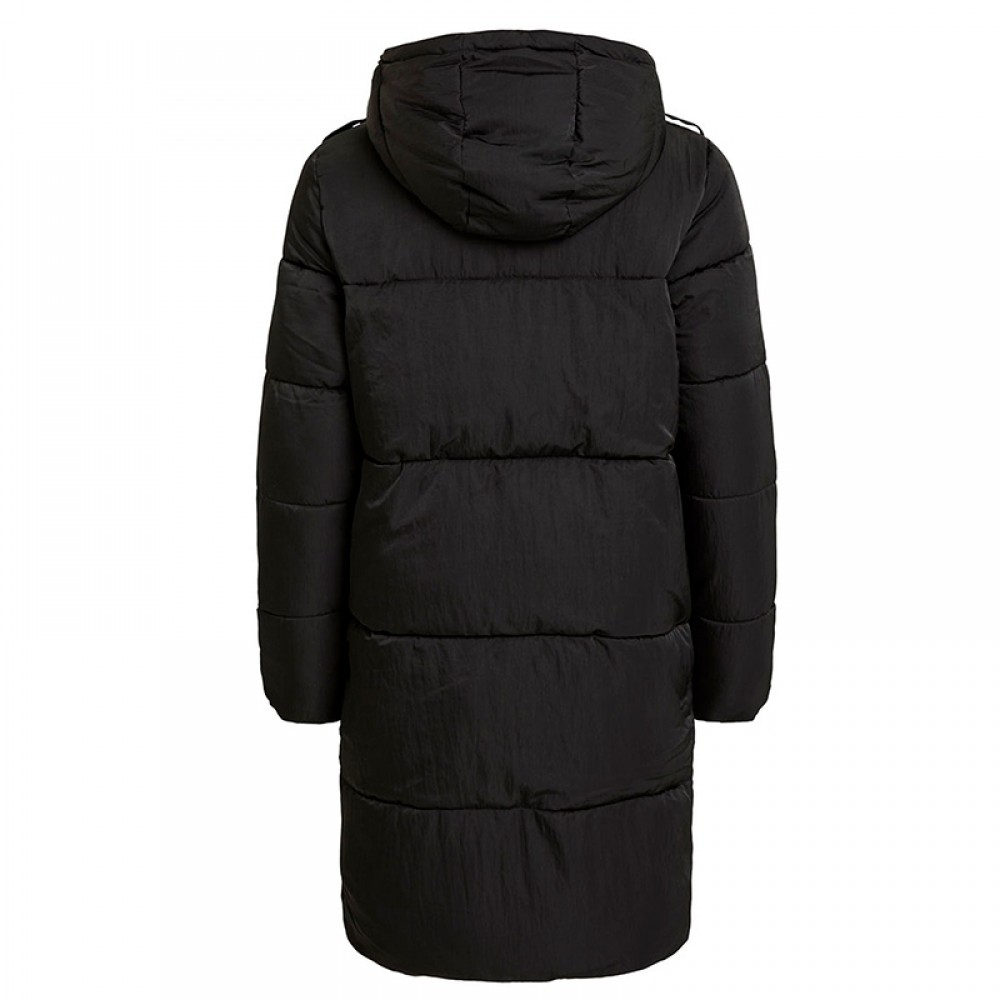 Object frakke - Jaddie Long Jacket, Black