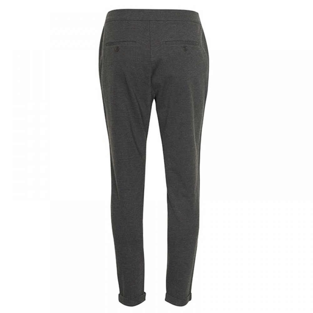Part Two bukser - Mighty 110 pants, Dark Grey Melange