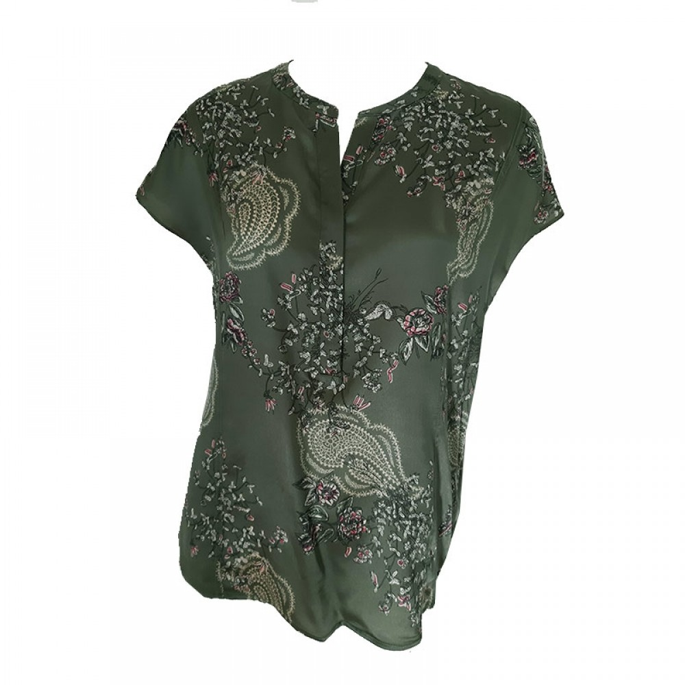 PBO bluse - Dust Top, Green