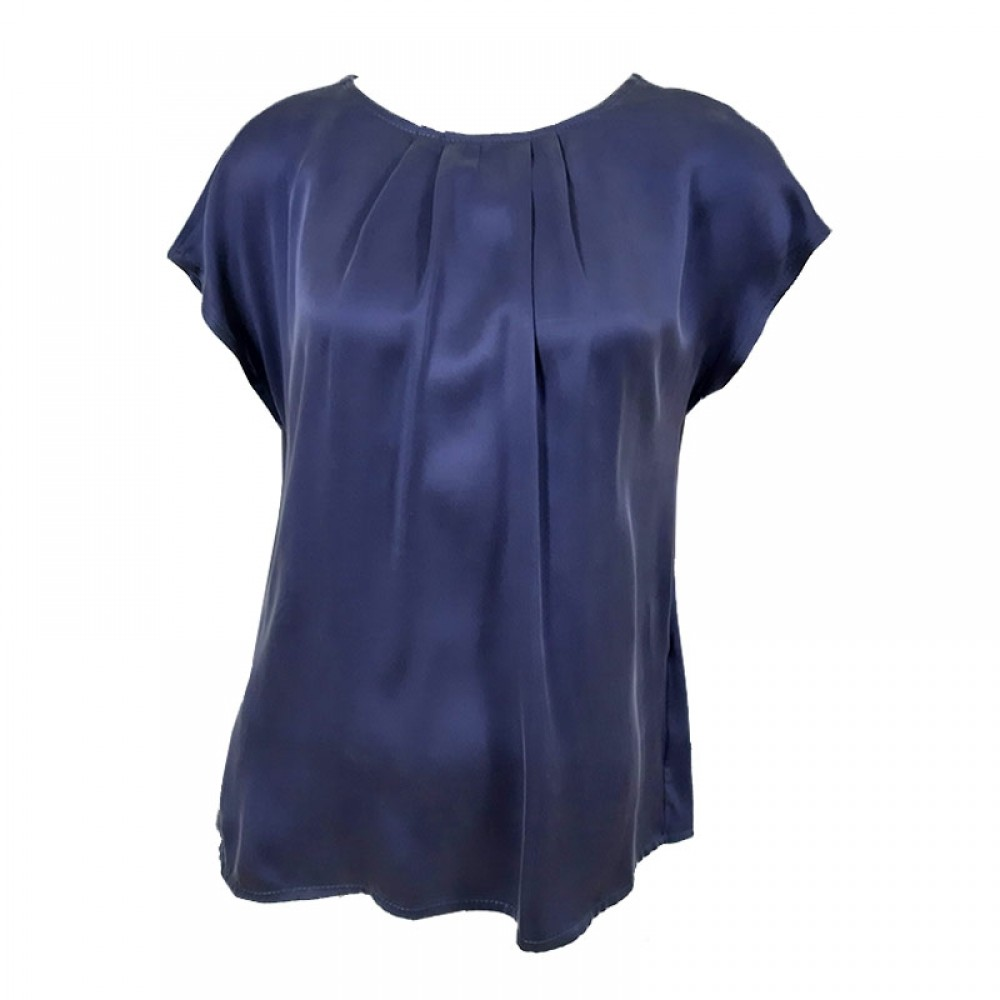 PBO bluse - Wee Top, Sign Blue