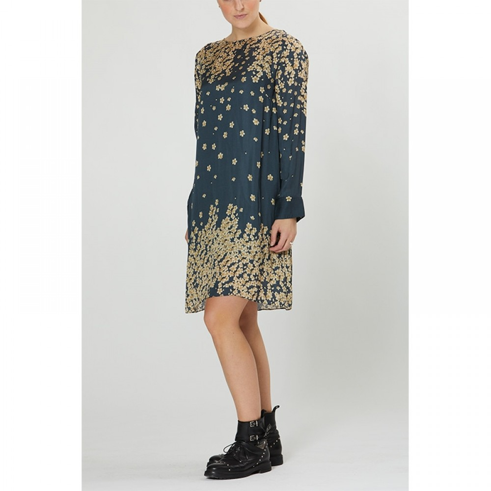 PBO kjole - Salvo Dress, Blue Print