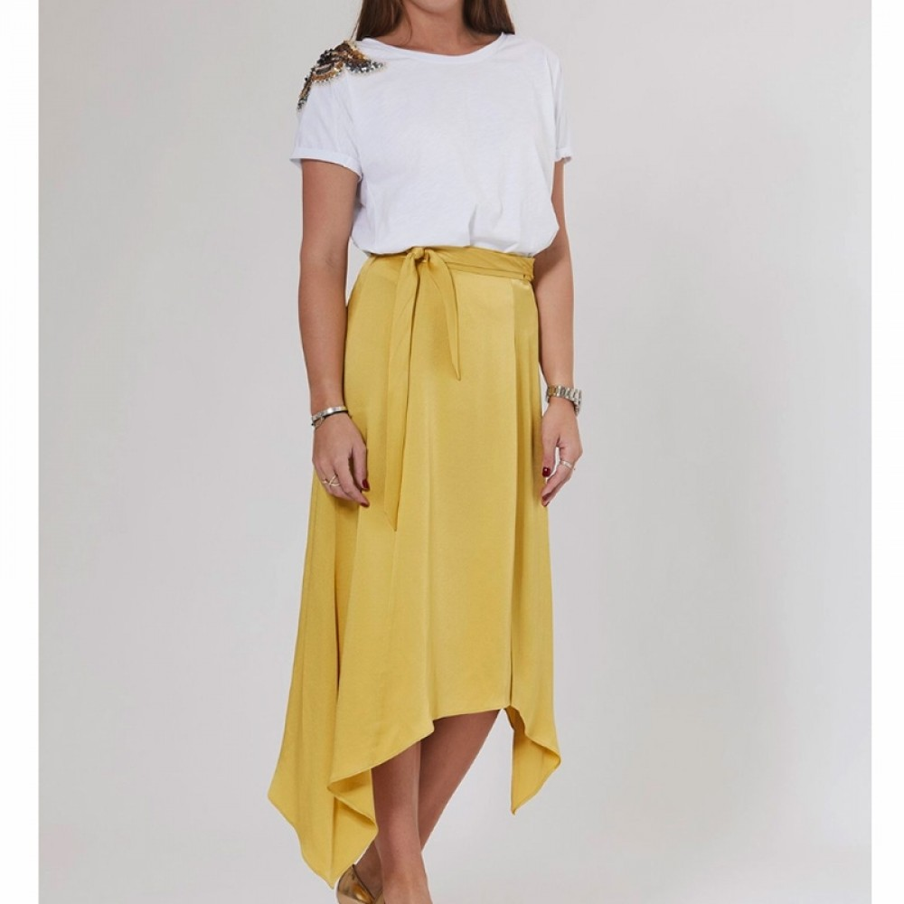 PBO nederdel - Alpine Skirt, Oil Yellow