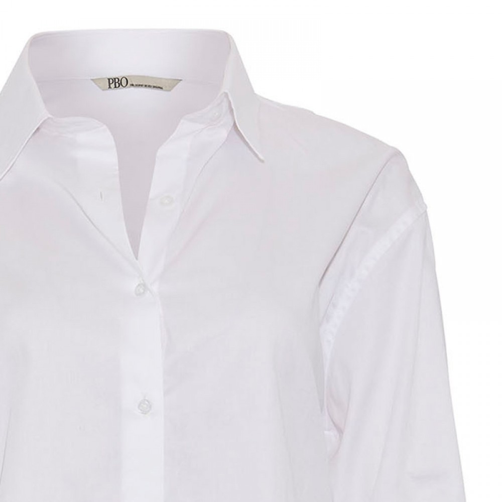 PBO skjorte - Bizzy Shirt, White